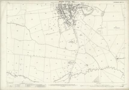 Oxfordshire XVI.1 (includes: Deddington; Duns Tew; North Aston) - 25 Inch Map