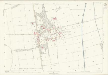 Lincolnshire XI.10 (includes: Appleby; Roxby cum Risby) - 25 Inch Map