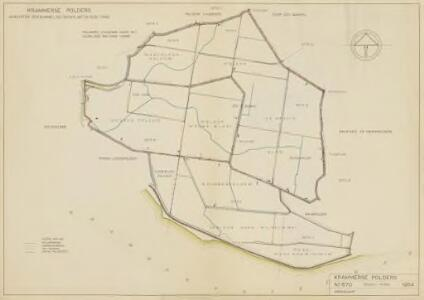 De Krammerse polders, gemeente Oude-Tonge, Ooltgensplaat en Den Bommel.