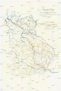 Übersichts-Karte des Donau-Moldau-Elbe-Canals