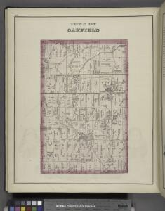 Town of Oakfield [Township]