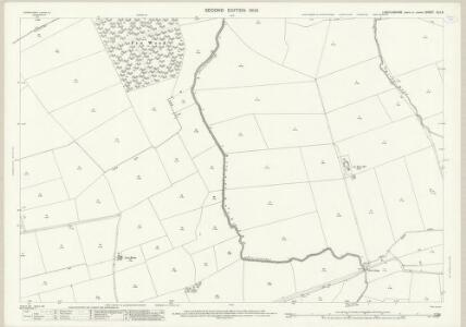 Lincolnshire XLV.9 (includes: Caenby; Glentham; Normanby by Spital; Toft Newton; West Rasen) - 25 Inch Map