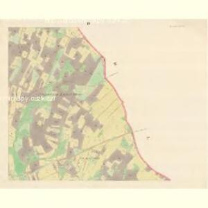 Heinrichswald (Kilerzow) - m1110-1-003 - Kaiserpflichtexemplar der Landkarten des stabilen Katasters