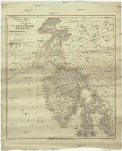 Königreich Illyrien Charte des gouvernements Triest