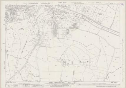 Yorkshire CCXXI.11 (includes: Barlby; Barlow; Brayton; Selby) - 25 Inch Map