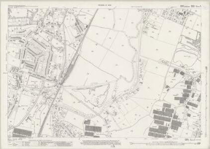 Essex (New Series 1913-) n LI.9 (includes: Hoddesdon; Nazeing) - 25 Inch Map