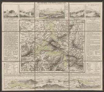 Rigi-Berg und seine Umgebungen