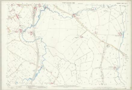 Somerset XLIII.3 (includes: Frome; Selwood) - 25 Inch Map