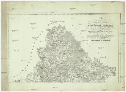 Uebersichts-Karte vom Olmützer Kreise des Makgrafthumes Maehren