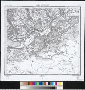 Meßtischblatt [8414] : Klein Laufenburg, 1882
