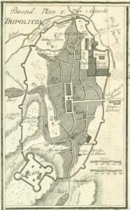 Besond. Plan v. Tripolitza [Nebenkarte]