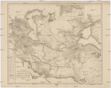 Regiones inter Euphratem, Tigrim et Indum, India intra Gangem bor., Scythia extra Imaum, Serica