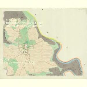 Dluhe - c8918-3-001 - Kaiserpflichtexemplar der Landkarten des stabilen Katasters