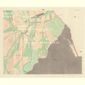 Pohlitz - m2351-1-005 - Kaiserpflichtexemplar der Landkarten des stabilen Katasters