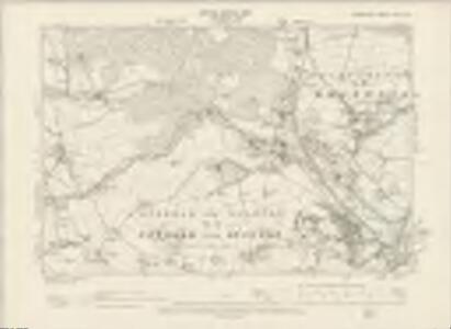 Derbyshire XVIII.SW - OS Six-Inch Map