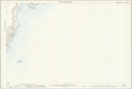 Cornwall LI.16 (includes: Fowey) - 25 Inch Map