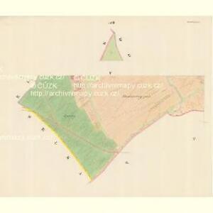 Borschütz - m0176-1-005 - Kaiserpflichtexemplar der Landkarten des stabilen Katasters