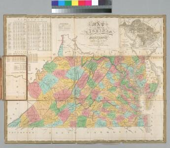 Map of Virginia and Maryland, constructed from the latest authorities / J.H. Young sc.