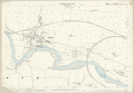 Durham LIV.1 (includes: Barforth; Eppleby; Gainford) - 25 Inch Map