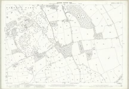 Suffolk XVII.6 (includes: Flixton; Homersfield; South Elmham St Cross; South Elmham St Margaret; South Elmham St Peter) - 25 Inch Map