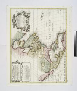 L'Amerique septentrionale: dressée sur les observations de Mrs. de l'Academie Royale des Sciences & quelques autres, & sur les memoires les plus recens / par G. de L'Isle, geographe.