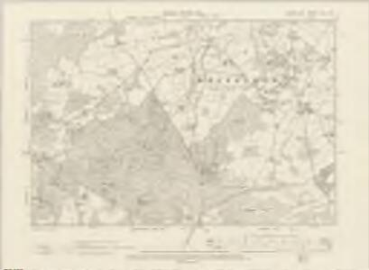 Sussex LVIII.NW - OS Six-Inch Map