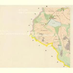 Billenitz - c0221-1-003 - Kaiserpflichtexemplar der Landkarten des stabilen Katasters