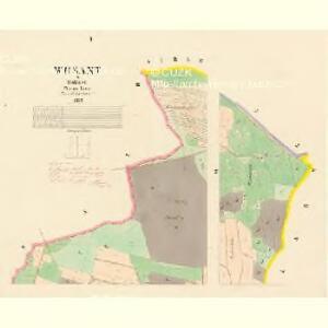 Wosant - c0081-1-001 - Kaiserpflichtexemplar der Landkarten des stabilen Katasters