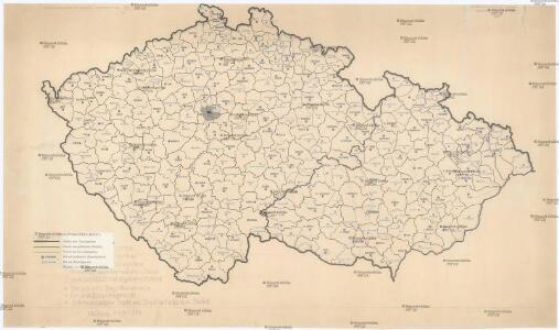 [Waldkarte der Sudetenländer]