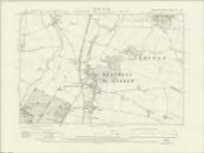 Northamptonshire XIX.SW - OS Six-Inch Map