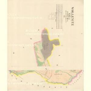 Wollenitz - c8759-1-001 - Kaiserpflichtexemplar der Landkarten des stabilen Katasters