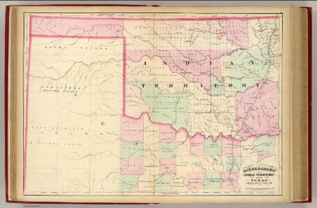 Indian Terr., Texas NW portion.