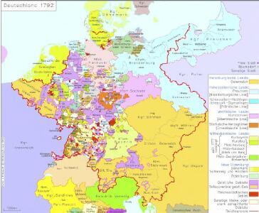 Deutschland 1792
