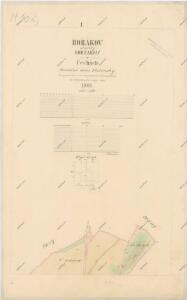 Katastrální mapa obce Hořákov WC-IX-VIII-27 ag dg