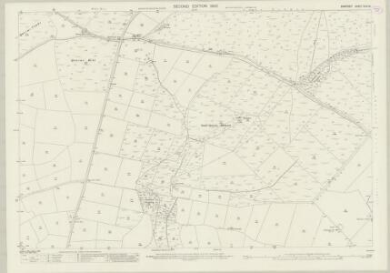 Somerset XLVI.16 (includes: Cutcombe; Exton; Luxborough) - 25 Inch Map