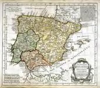 Mapa general de España antigua