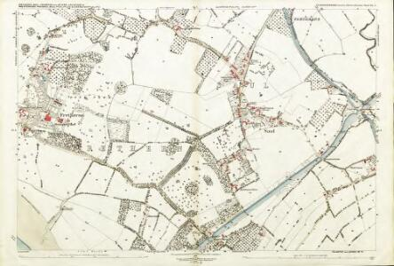 Gloucestershire XL.7 (includes: Arlingham; Frampton on Severn; Fretherne With Saul; Whitminster) - 25 Inch Map