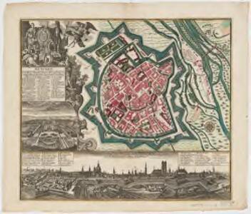 München : die weitberühm, præchtig und wohl fortificirte Chur-Fürstl.Haupt- u. Residenz Stadt des Herzogthums Bayern