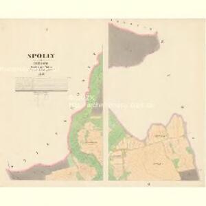 Spolly - c7179-1-001 - Kaiserpflichtexemplar der Landkarten des stabilen Katasters