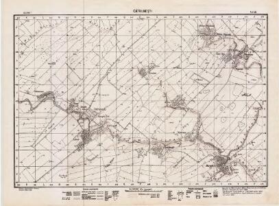Lambert-Cholesky sheet 4445 (Cătruneşti)