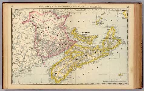 New Brunswick, Nova Scotia, and Prince Edward Island.