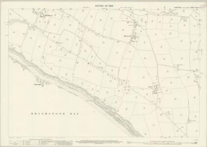 Hampshire and Isle of Wight XCVII.7 (includes: Brixton; Shorwell) - 25 Inch Map