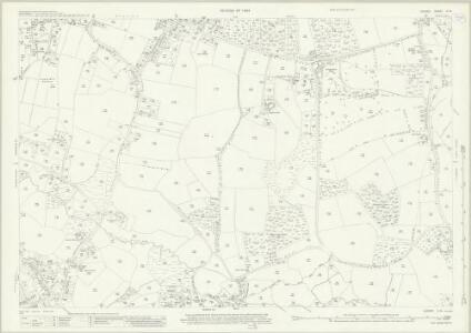 Surrey X.14 (includes: Chobham; Windlesham) - 25 Inch Map