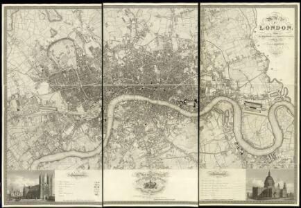 Map of London from an Actual Survey