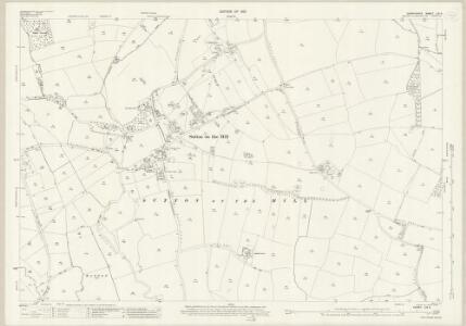 Derbyshire LIII.4 (includes: Ash; Barton Blount; Church Broughton; Hatton; Hilton; Hoon; Longford; Osleton and Thurvaston; Sutton on the Hill; Trusley) - 25 Inch Map
