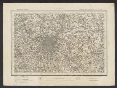Ordnance Survey of England. Sheet 168, Birmingham