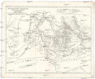 AEthiopisches Hochland Alpenland Habesch und Vorstuffe von Darfur und Sennaar
