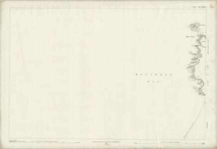 Cornwall XXXIX.5 (includes: Cubert; Perranzabuloe) - 25 Inch Map