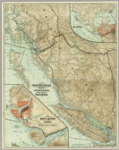 Map Of The Grand Trunk Pacific Railway In British Columbia.