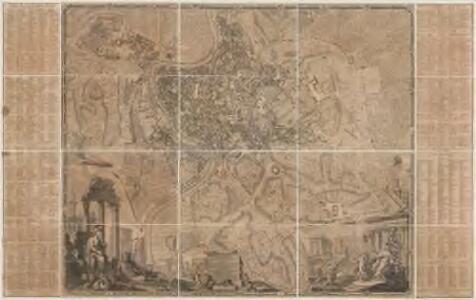 Alla Santittá di Nostro Signore Papa Benedetto XIV la nuova topografia di Roma